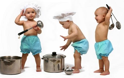 Детские развивающие игры на кухне